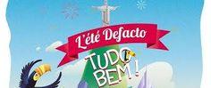 Miloca à L'été Defacto sur l'Esplanade La Defense. Des animations brésiliennes du 7 juillet au 12 août.