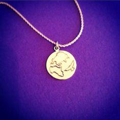 Traveling Bird Gold Pendant Gold Pendant, Pendant Necklace, Traveling, Bird, Contemporary, Jewelry, Viajes, Jewlery, Jewerly