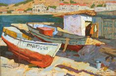 Denis Sarazhin - Two Boats