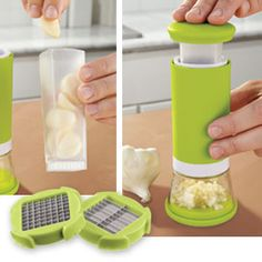 I hate when my hands smell like garlic...plus I love the storage feature.  Totally want one of these!