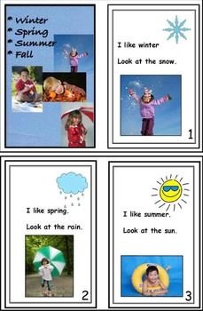This 12-page SEASONS thematic unit includes three LITERACY centers that will stimulate discussion and build vocabulary and READING skills. An EMERGENT READER features beaufitul photographs of kids out and about in each season.