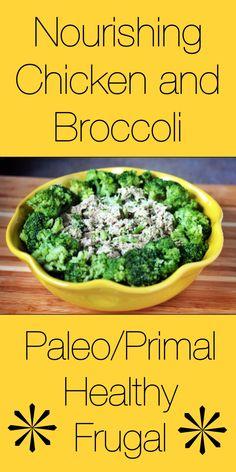 Nourishing Chicken and Broccoli