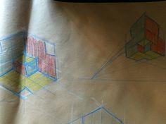 Isometrico y dos puntos de fuga