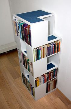 The CatCase: a Bookcase and a Ideal Playground for Your Cat | http://www.designrulz.com/product-design/storage-items/2012/02/catcase-a-bookcase-and-a-ideal-playground-for-your-cat/