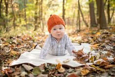 Fall baby with pumpkin hat! #babyphotography #grandrapidsbabyphotographer #grandrapidsphotographer #grandrapidsfamilyphotographer