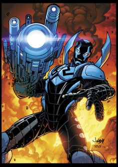 Blue Beetle by *Tonywash