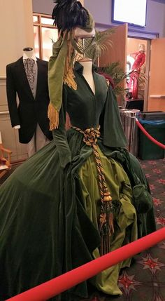 Scarlett's curtain dress | Gone with The Wind