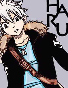 Hiro Mashima's Main Characters/// Haru Glory!!!! Rave Master!!!