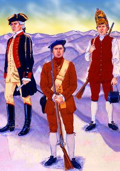 Scots Loyalist Volunteer. The Jacobite Rebellion of 1745