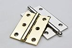 Horton Brass- Brass & Nickel Cabinet Hinges