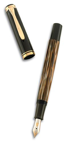 Pelikan M400 tortoise shell fountain pen
