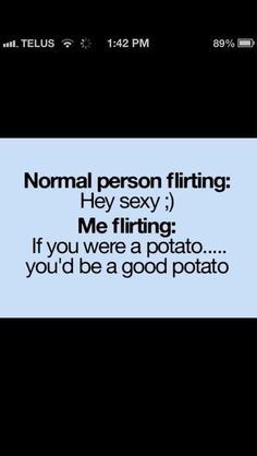This was about the equivalent of flirting going on when I met Sam! Lol I'm glad we have the same sense of humor :)