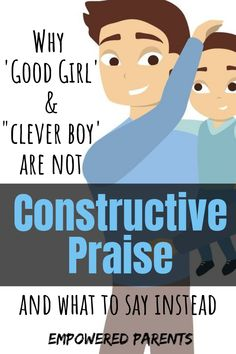 "It is important to praise your children in a way that actually builds them. Find out why phrases such as ""good girl"" are unhelpful and what you can say instead. Early Learning Activities, Preschool Learning, Toddler Preschool, Teaching Kids, Step Parenting, Parenting Toddlers, Parenting Advice, Child Development Stages, Gifted Kids"