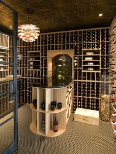 It'd be great if I can have a wine cellar
