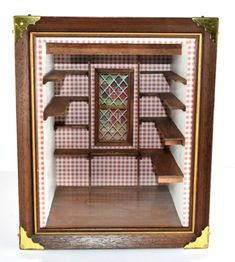 Small Pantry Room Box Dollhouse