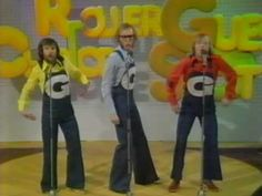 The Goodies are a trio of British comedians (Tim Brooke-Taylor, Graeme Garden and Bill Oddie), who created, wrote, and starred in a surreal British televisio. Top 10 Hits, Theme Tunes, Classic Songs, Pet Rocks, Comedy Show, Film Books, Hd Movies, Real People, Comedians