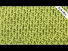 The Aptly-Named Tire Tread Stitch Has Quite The Unique Texture! - Starting Chain