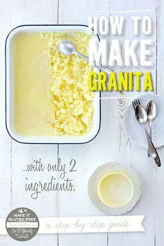 How To Make Granita {Beard and Bonnet}