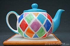 Colour, Functional object. Teapots can come in many different colours and shades.