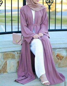 hijab, fashion, and abaya image