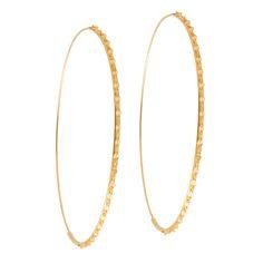 Lana Jewelry | Large Glam Magic Hoops | 14K Gold