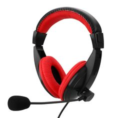 Gaming Stereo Headphone Bass Earphone Game Headphones With Mic For PC Computer Gamer MP3 Player
