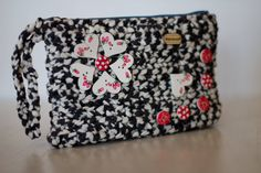 Crochet clutch by HandmadeByYouStore on Etsy