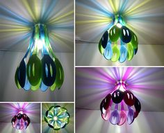 Use Silicone Spoons to Make an Amazing Pendant Lamp for Your Kitchen