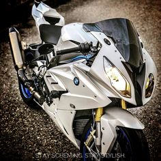 "She has ""Bite Me"" written all over her. IG: @cannons_topspeed #sportbike #bikelife #bmw #s1000rr"