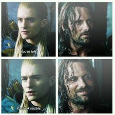 Legolas and Aragorn