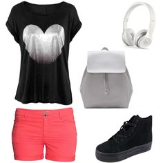 Polyvore featuring H&M and Zara
