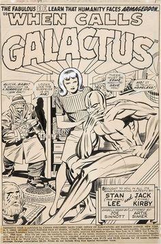 Splash page to Fantastic Four #74 by Jack (King) Kirby and Joe Sinnott.