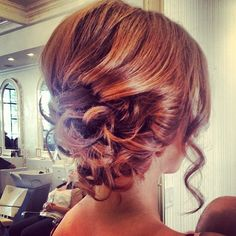 Updo #hair #bridalhair
