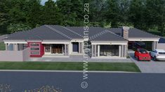 My Building Plans South Africa – Building Industry Marketplace Round House Plans, Tuscan House Plans, New House Plans, Bungalow House Design, Design Your Dream House, Single Storey House Plans, Beautiful House Plans, Beautiful Homes, House Plans South Africa