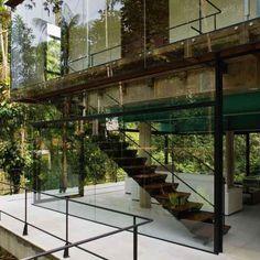 Iporanga House by Nitsche Arquitectos Associados.