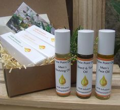 Men's giftbox-Therapeutic Treatment oils - Pulse Point Oils