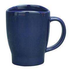 The Wave Mug in Monaco Blue is fun and useful.