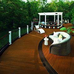 www.trex.com - I love this outdoor living space!!