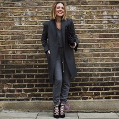 Wearing It Today - cashmere jumpsuit