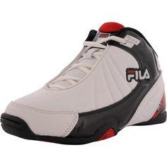 9fac5a667e88 Fila - Boys  DLS Slam Basketball Shoe (Big Kid) - White Black Red