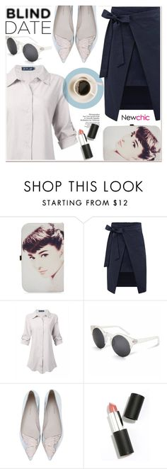 """Blind Date"" by paculi ❤ liked on Polyvore featuring moda, Sophia Webster, Sigma Beauty, women's clothing, women, female, woman, misses, juniors y newchic"