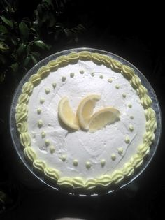 Lemon Pie With Cream Cheese filling