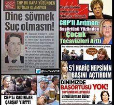 Hiçbirşeyim: Resimlerle Din Düşmanı Chp (365 resim) Twitter Sign Up, Islam, Thankful, Shit Happens, Antalya