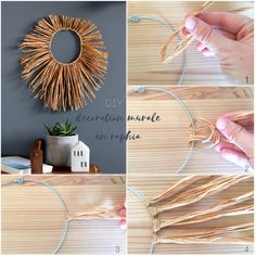 home decor crafts to sell & home decor crafts _ home decor crafts diy _ home decor crafts to sell _ home decor crafts easy _ home decor crafts diy wall art _ home decor crafts for kids _ home decor crafts creative _ home decor crafts ideas Homemade Wall Decorations, Diy Home Decor Easy, Diy Crafts For Adults, Diy Crafts To Sell, Decor Crafts, Home Crafts, Raffia Crafts, Diy Tapete, Deco Nature
