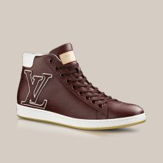Surfside sneaker boot in grained calf via Louis Vuitton