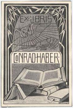Ex Libris Conrad Haber