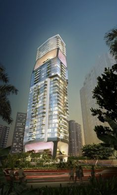 Scotts Tower, UN studio, Singapore