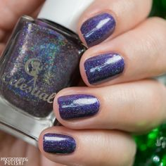 Celestial Cosmetics - SantaMental Collection I Can Get You On The Naughty List Treat Yourself, Slow Cooker, Swatch, You Got This, December, Nail Polish, Cosmetics, Celestial, Nails