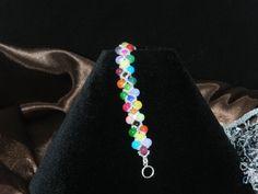 "FT431 Candy Crush Bracelet Size 5.25"" by KarinsForgottenTreas on Etsy"