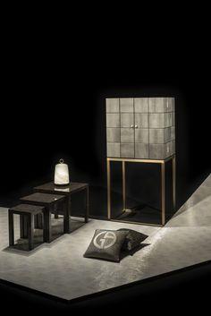 to Design: Armani/Casa Photo by Fabrizio Marco Nannini. Contemporary Furniture, Luxury Furniture, Furniture Sets, Furniture Design, Armani Home, Armani Casa, Singapore House, Interior Decorating, Interior Design